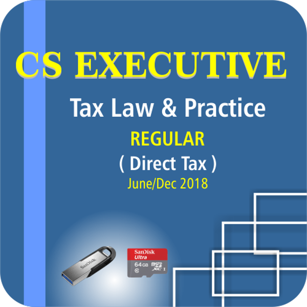 Picture of CS EXECUTIVE TAX LAW & PRACTICE- DIRECT TAX ( JUNE / DCE 18)