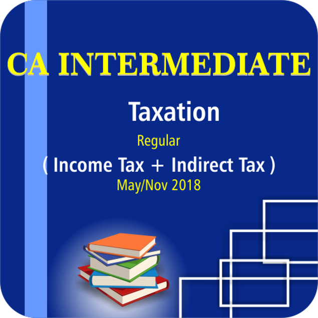 Picture of TAXATION(INCOME TAX + INDIRECT TAX) MAY/NOV 18