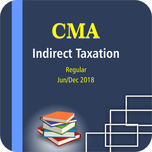 Picture of INDIRECT TAXATION JUNE/DEC 18